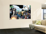 Black Panther Annual No.1 Group: Marvel Universe Wall Mural by Larry Stroman
