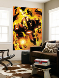 Iron Man: Hypervelocity 6 Cover: Iron Man Wall Mural by Brian Denham