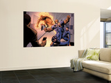 Dark Reign: Fantastic Four 4 Group: Invisible Woman, Thing, Mr. Fantastic and Human Torch Wall Mural by Sean Chen