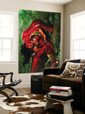 Secret Invasion No.3 Cover: Iron Man and Spider Woman Wall Mural