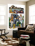 New X-Men No.3 Group: Cyclops, Emma Frost, Moonstar and Danielle Wall Mural by Staz Johnson
