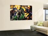 Fantastic Four No.553 Group: Dr. Doom, Mr. Fantastic, Thing, Invisible Woman and Human Torch Wall Mural by Paul Pelletier
