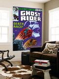 Ghost Rider 35 Cover: Ghost Rider Wall Mural by Bob Budiansky