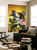 War of Kings 5 Cover: Gorgon Wall Mural by Brandon Peterson