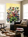 Los vengadores clásicos, portada nro.1: Hulk Mural por Art Adams