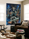 Guardians of the Galaxy No.20 Cover: Rocket Raccoon, Starlord, Moon Dragon and Groot Wall Mural