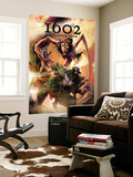 Marvel 1602: Fantastick Four No.5 Cover: Mr. Fantastic and Dr. Doom Wall Mural