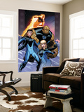 Ultimate Fantastic Four No.60 Cover: Invisible Woman, Mr. Fantastic, Thing and Human Torch Wall Mural by Ed McGuinness