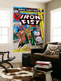 The Immortal Iron Fist: Marvel Premiere 16 Cover: Iron Fist and The Scythe Wall Mural by Gil Kane