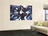 X-Force/Cable: Messiah War 1 Group: Wolverine Reproduction murale géante par Mike Choi