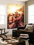 Thor No.11 Cover: Thor Wall Mural by Olivier Coipel