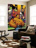 Fantastic Four No.513 Cover: Thing, Spider-Man, and Johnny Storm Wall Mural by Mike Wieringo