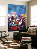 Howard The Duck No.4 Cover: Howard The Duck Wall Mural by Juan Bobillo