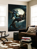 X-Force 23 Cover: Banshee, Wolfsbane and Elixir Wall Mural by Clayton Crain