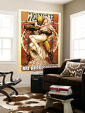 Wolverine Art Appreciation One-Shot Canvas Cover Cover: Wolverine and Emma Frost Wall Mural by Joe Quesada