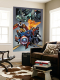 Black Panther No.25 Group: Black Panther Wall Mural