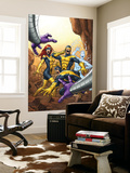 X-Men: First Class No.13 Cover: Cyclops, Marvel Girl, Iceman and Beast Wall Mural by Roger Cruz