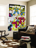 Infinity Gauntlet 6 Group: Thanos, Hulk, Thor and Dr. Strange Wall Mural by George Perez