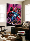 New Avengers No.12 Cover: Captain America Wall Mural by David Finch