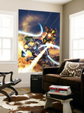 Iron Man Vs. Whiplash 1 Cover: Whiplash and Iron Man Wall Mural by Brandon Peterson