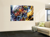 Nova Annual No.1 Group: Thor, Vision, Iron Man, Captain America and Dr. Doom Wall Mural by Wellinton Alves