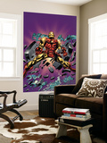 Gene Colan Tribute Book Cover: Iron Man Wall Mural by Matt Milla