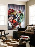 Avengers: The Initiative No.22 Cover: Thor and Gauntlet Wall Mural by Humberto Ramos