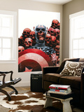 Captain America: The Chosen No.5 Cover: Captain America Wall Mural by Mitchell Breitweiser