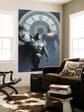 Moon Knight No.11 Cover: Moon Knight and Iron Man Charging Wall Mural