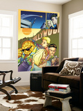 Marvel Adventures Fantastic Four No.29 Group: Thing Wall Mural by Leonard Kirk