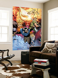 Thor: Tales of Asgard By Stan Lee & Jack Kirby No.4 Cover: Hogun, Fandral and Volstagg Wall Mural by Olivier Coipel