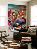 The Mighty Avengers 22 Cover: U.S. Agent, Hercules and Iron Man Wall Mural by Khoi Pham