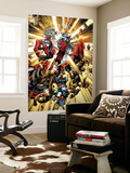 Marvel Spotlight: Ultimatum Cover: Spider-Man, Dazzler, Wolverine and Captain America Wall Mural by David Finch