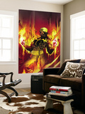 The Immortal Iron Fist No.17 Cover: Iron Fist Wall Mural by Travel Foreman