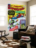 Steve Ditko - Amazing Spider-Man No.14 Cover: Spider-Man, Green Goblin and Hulk Nástěnný výjev