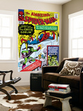 Amazing Spider-Man No.14 Cover: Spider-Man, Green Goblin and Hulk Wall Mural by Steve Ditko