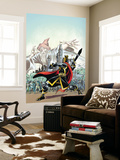 The Black Knight No.1 Cover: Black Knight Wall Mural by Ron Frenz