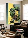 Ultimate Wolverine vs. Hulk 6 Cover: Hulk and Wolverine Wall Mural by Leinil Francis Yu