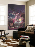 I Heart Marvel: Marvel Ai No.1 Cover: Daredevil, Elektra, Vision and Medusa Fighting Wall Mural by Gez Fry