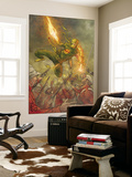 Immortal Iron Fist 15 Cover: Iron Fist Wall Mural by Khari Evans