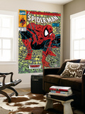 Spider-Man #1 Cover: Spider-Man Muurposter van Todd McFarlane