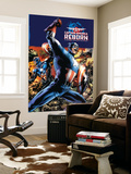 Captain America Reborn No.1 Cover: Captain America Wall Mural by Bryan Hitch