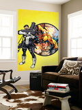 Punisher No.1 Cover: Punisher and Sentry Wall Mural by Mike McKone