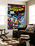 The Amazing Spider-Man 137 Cover: Spider-Man and Green Goblin Reproduction murale géante par Ross Andru