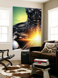 Captain Marvel 23 Cover: Captain Marvel Wall Mural by Chris Cross