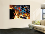 Hulk No.8 Group: Tigra, Black Widow, Hellcat, Invisible Woman, Storm and Spider Woman Wall Mural by Arthur Adams