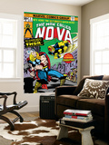 Nova: Origin Of Richard Rider - The Man Called Nova No.4 Cover: Nova and Thor Wall Mural by Sal Buscema