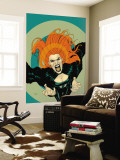 X-Factor No.5 Cover: Siryn Wall Mural by Ryan Sook