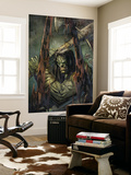 Skaar: Son Of Hulk 4 Cover: Skaar Wall Mural by Ron Garney