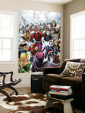 Avengers Classic 10 Cover: Captain America and Giant Man Wall Mural by Arthur Adams